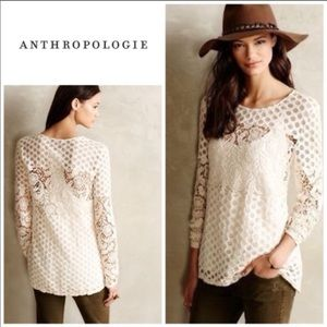 Anthro Sunday in Brooklyn lace top